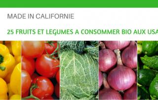 25 fruits et légumes à consommer bio aux USA