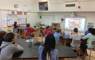 Atelier de nutrition à l'école San Diego French American School