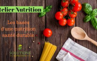 Atelier Nutrition