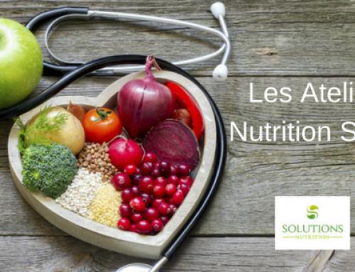Prochaines dates pour les Ateliers Nutrition Santé
